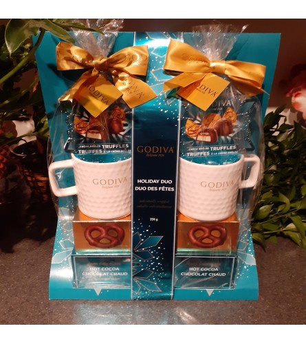 Godiva Holiday Duo Gift Set