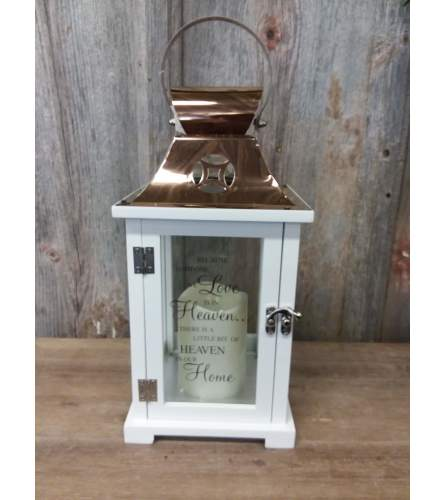 Lantern Copper (small) 'Because Someone We Love'