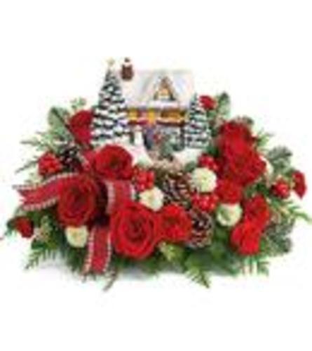 TF Thomas Kinkade's Homecoming Hero Bouquet