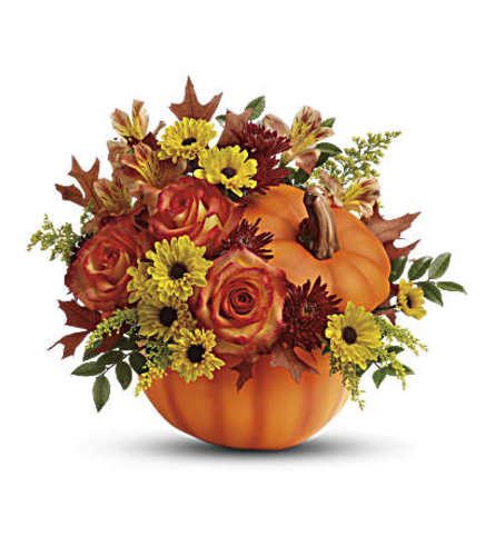 Fall Wishes Table Arrangement