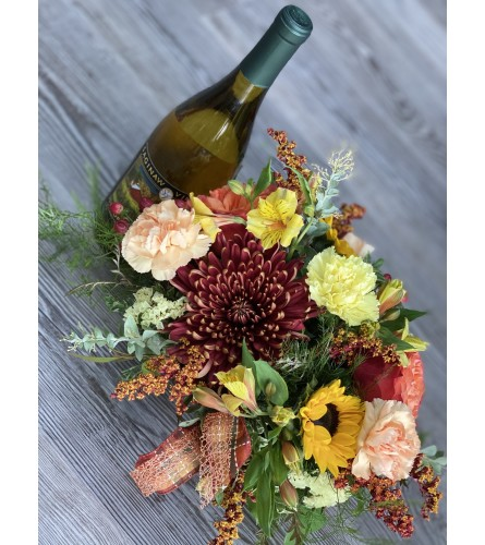 Autumn Blessings with Pinot Gris