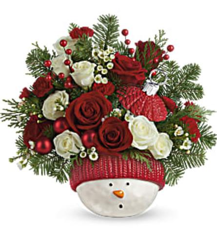 TF Teleflora's Snowman Ornament