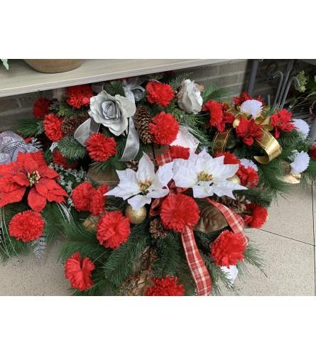 Cemetery topper - Christmas
