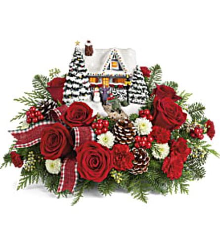 Teleflora Thomas Kinkade's Hero's Welcome