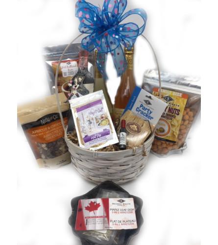 Girls Night Gift Basket