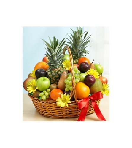 MIXED FRUIT GIFT BASKET