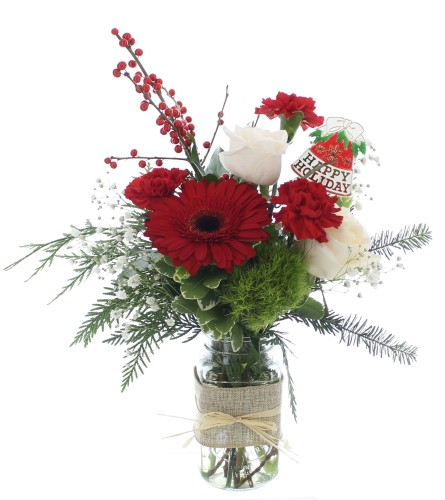 Vibrant Christmas Arrangement