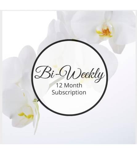 Bi-Weekly, Twelve Month Subscription