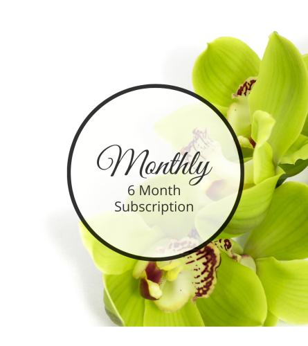 Monthly, Six Month Subscription