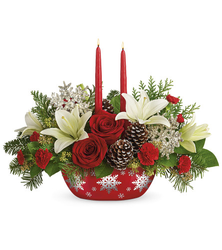 Teleflora's Snowflake Treasures by TCG