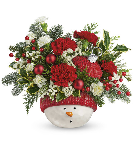 Teleflora's Snowman Ornament By TCG