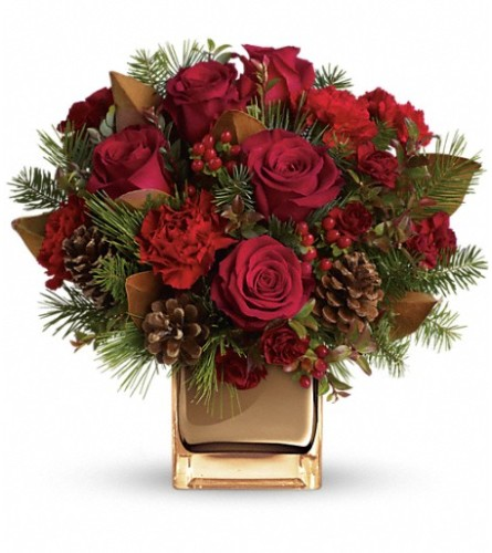 Warm Tidings Bouquet By Telefloras