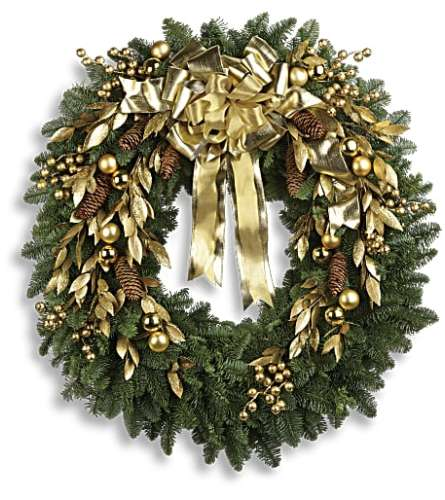 Wreath for Christmas by Teleflora