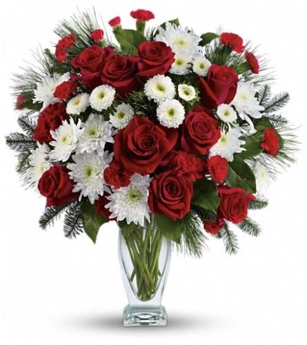 Teleflora's Winter Kiss Bouquet
