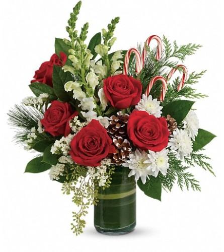 Festive Pine Bouquet from Teleflora