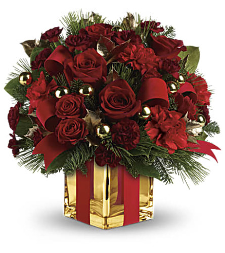 All Wrapped Up Bouquet by Teleflo
