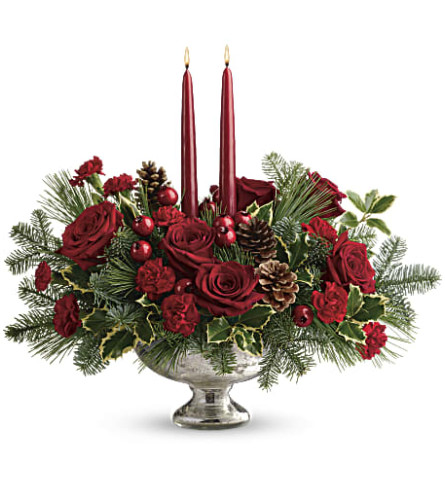 Teleflora's Shining Bright Centerpiece Save for Later