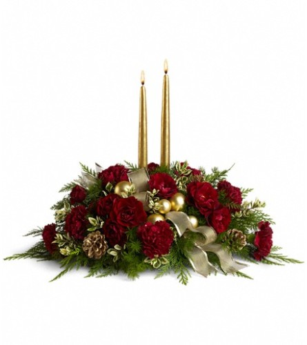 Crimson and Candlelight by Teleflora