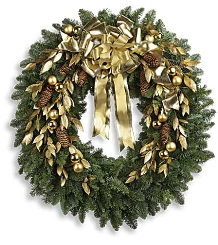 Glitter and Gold Wreath