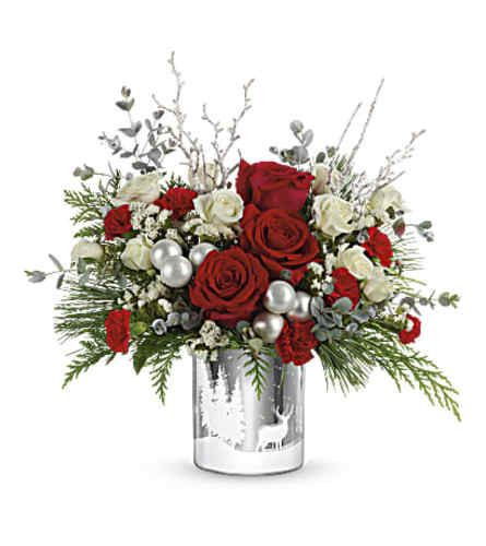 A Wintry Wishes Bouquet