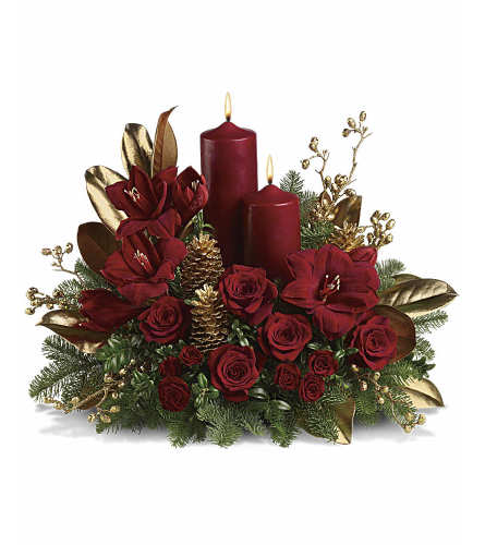 Elegance Christmas Centerpiece