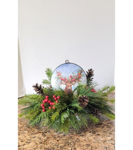 Woodland Friends Ornament Centerpiece