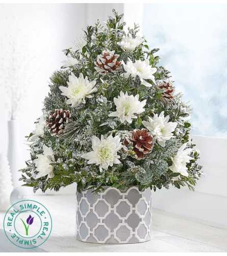 Winter's Snowfall™ Holiday Flower Tree®