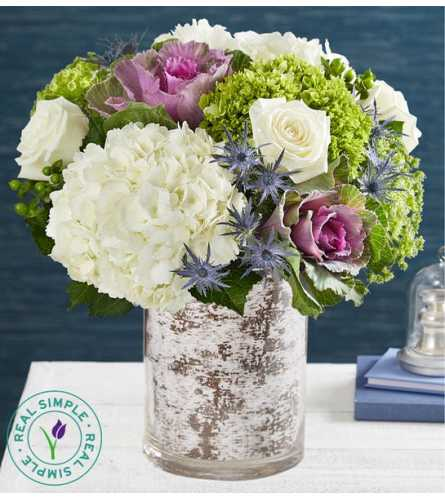 """""""There's Snowplace Like Home"""" Bouquet"""