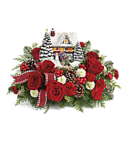Thomas Kinkade's Hero's Welcome Bouquet 20