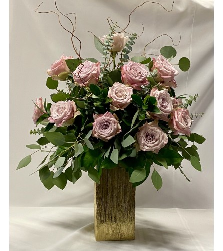 All My Love - 24 Pink Roses