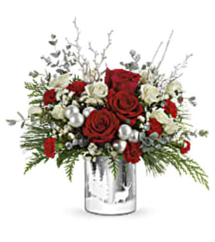 Teleflora's Wintry Wishes Holiday Bouquet