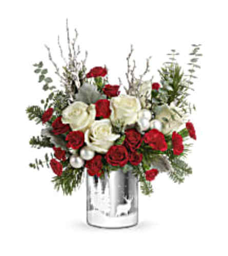 Teleflora's Winter Silhouettes Holiday Bouquet