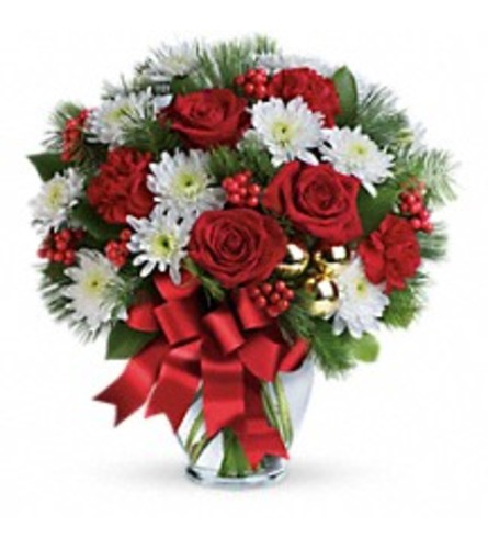 Merry Beautiful Holiday Bouquet