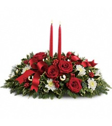 Holiday Shimmer Centerpieces