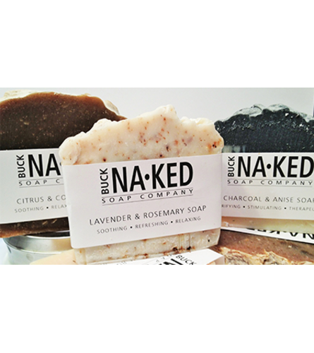 Buck Naked Assorted Bar Soaps