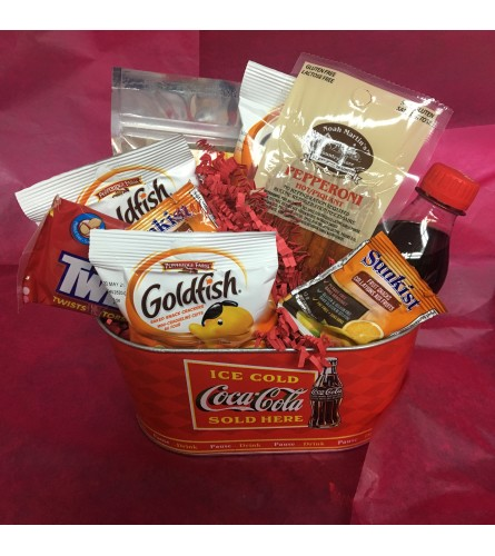 Coca Cola Basket