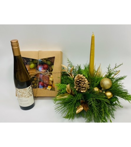 Charcuterie Gift Set - White Wine