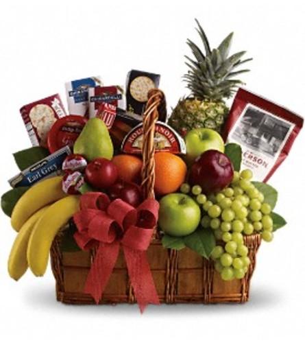 Bon Vivant Fruit and Gourmet Basket