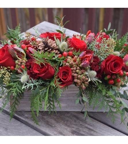 Box of Christmas Roses