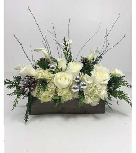 Snowflake Centerpiece Bouquet