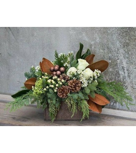 Woodsy Holiday Bouquet