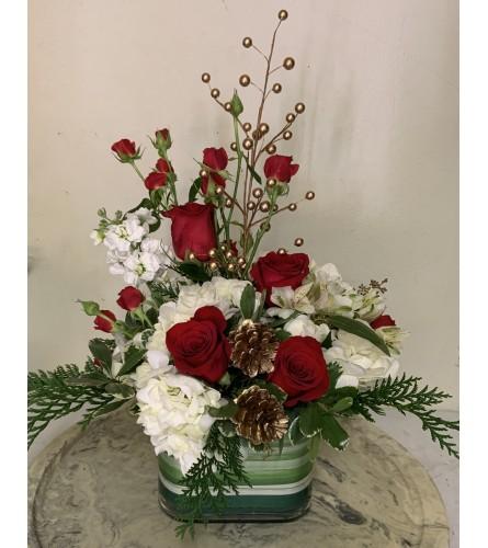 Bricks Holiday Cheer Bouquet