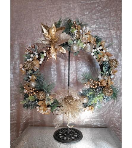 Custom Grapevine Wreath