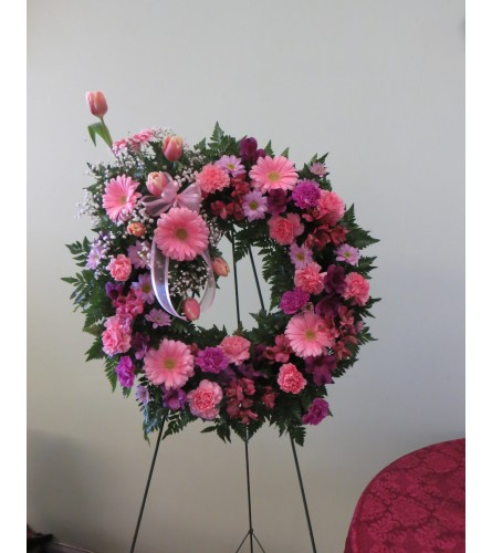 Elegant Lace Wreath