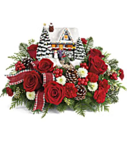 Thomas Kinkade's Hero's Welcome Bouquets