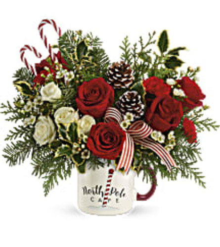 Send a Holiday Mug by Teleflora