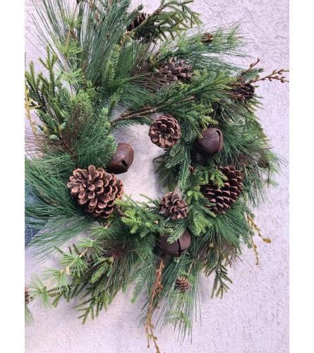"Natural ""Real Look"" Wreath"
