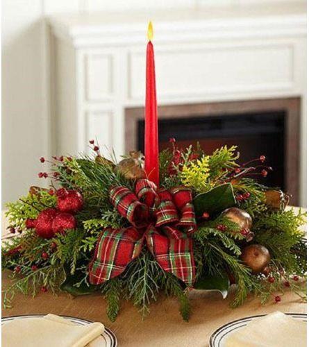 Festive Christmas Centerpiece