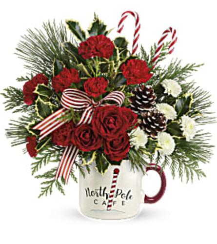 Christmas Café Mug