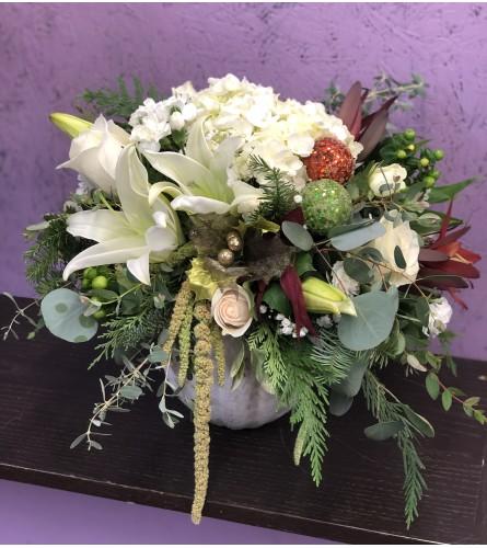 Joyful Christmas bouquet